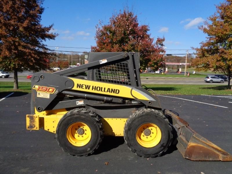 2010 New Holland L190 Skid Steer For Sale