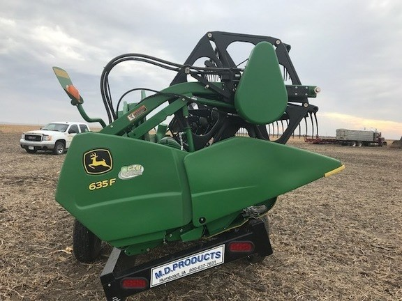 2011 John Deere 635F Header-Auger/Flex For Sale