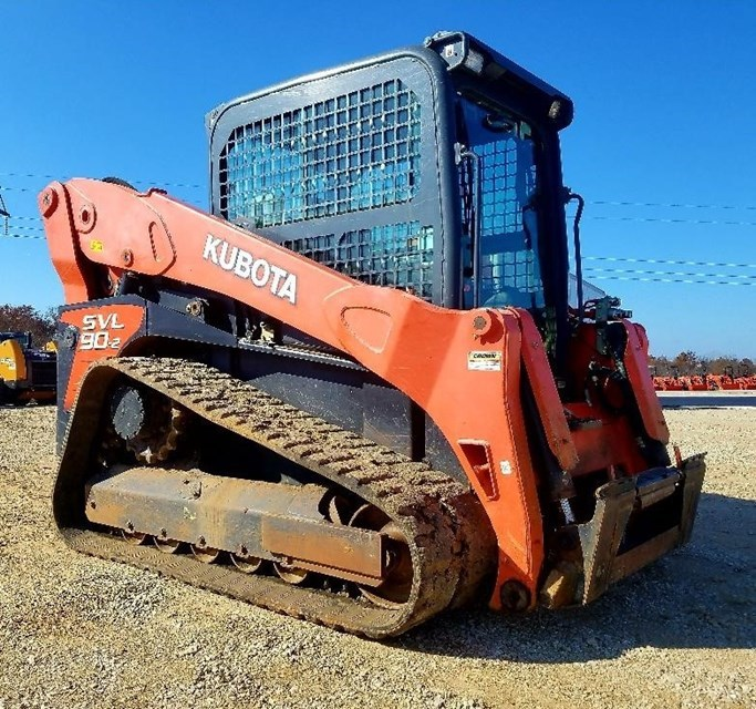 2013 Kubota SVL90-2 Skid Steer-Track For Sale