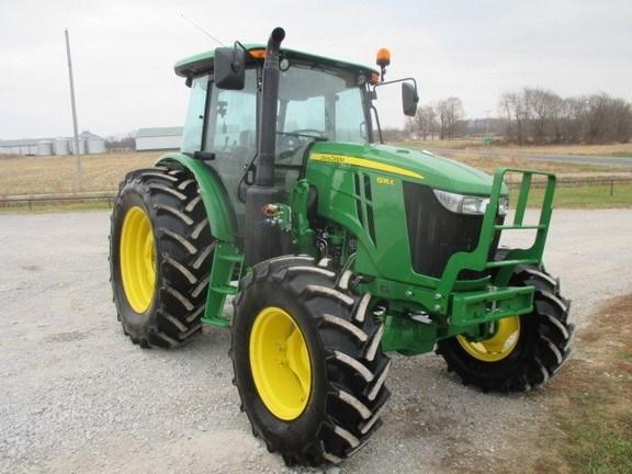 2017 John Deere 6135E Tractor For Sale