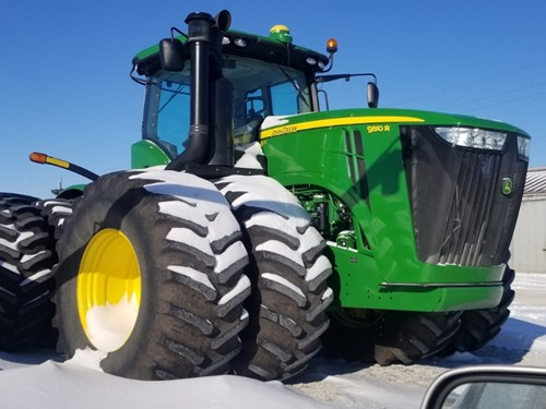 Tractor For Sale:  2012 John Deere 9510R , 510 HP