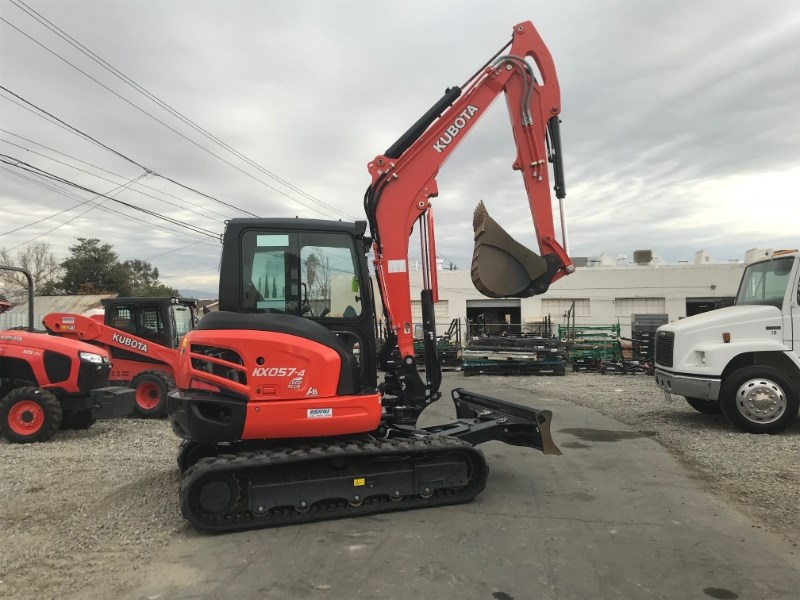 2017 Kubota KX057-4 Excavator-Mini For Sale