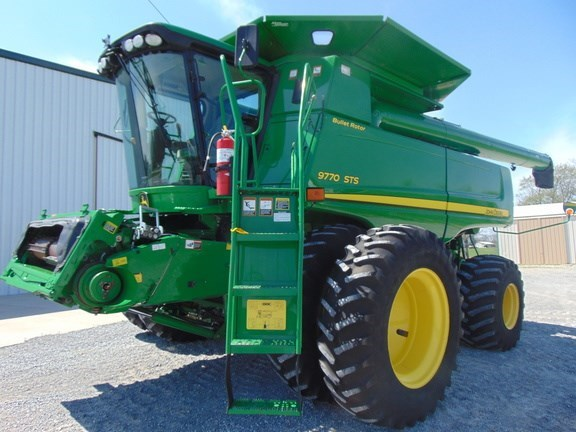 2008 John Deere 9770 STS Combine For Sale