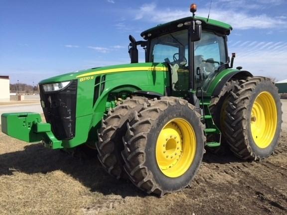 2017 John Deere 8270R Tractor For Sale