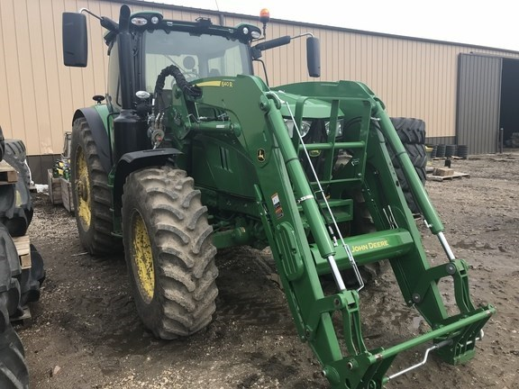 2017 John Deere 6155R Tractor For Sale