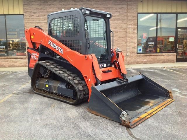 2014 Kubota SVL752HWC Skid Steer For Sale