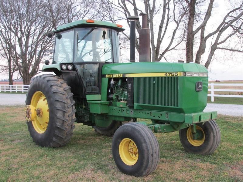 1990 John Deere 4755 Tractor For Sale