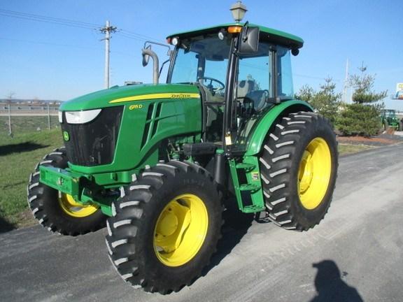 2014 John Deere 6115D Tractor For Sale
