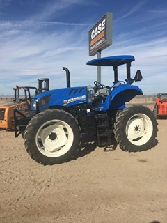 Tractor For Sale:  2017 New Holland TS6.120 HC