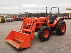 Tractor For Sale:  2009 Kubota M6040HD-1