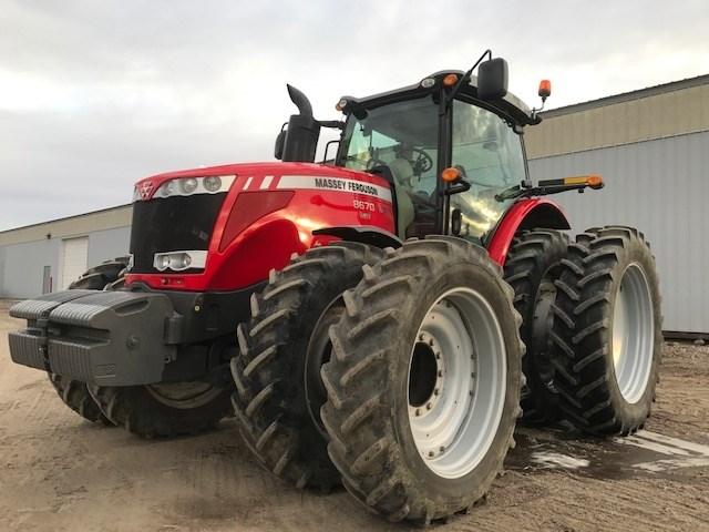 2012 Massey Ferguson 8670 Tractor For Sale