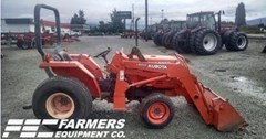 Tractor For Sale 1996 Kubota L2350 , 25 HP