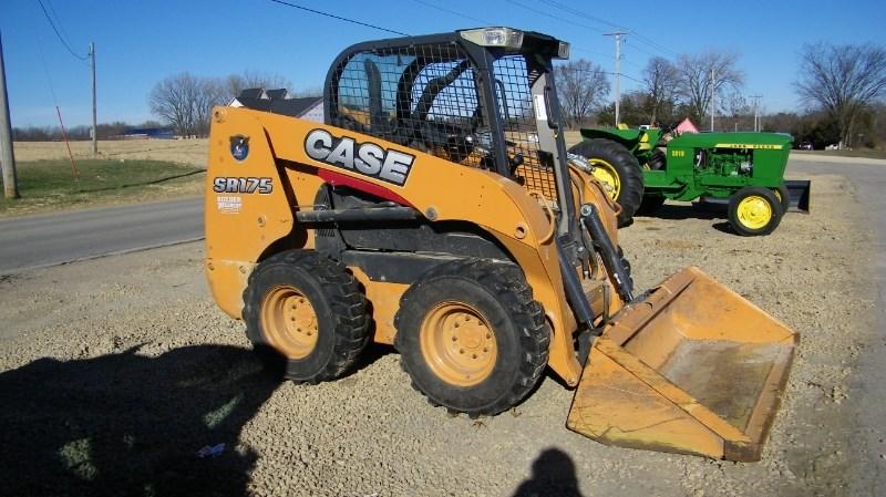 2014 Case SR175 Skid Steer For Sale
