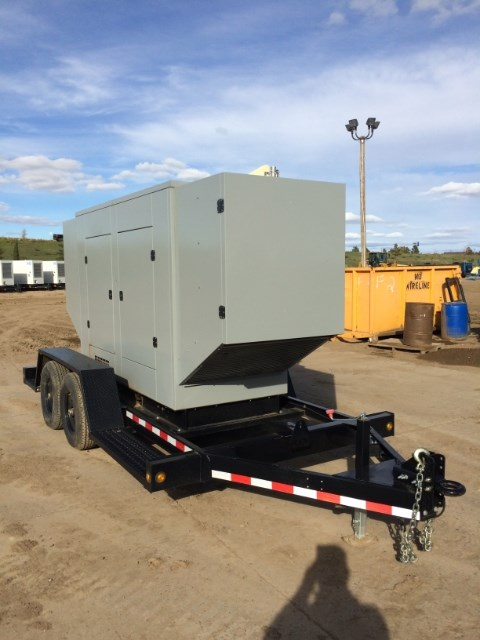 2014 SRC Power Systems 160 KW, Nat Gas/Prop, Weatherproof Generador a la venta