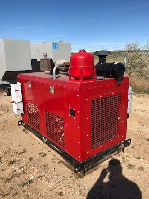 2014 SRC Power Systems 50 KW, Nat Gas/Prop, Deep Sea 7310 Controller Generador a la venta