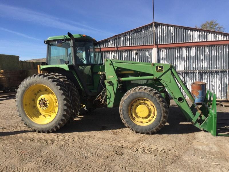 1992 John Deere 4560 Tractor For Sale