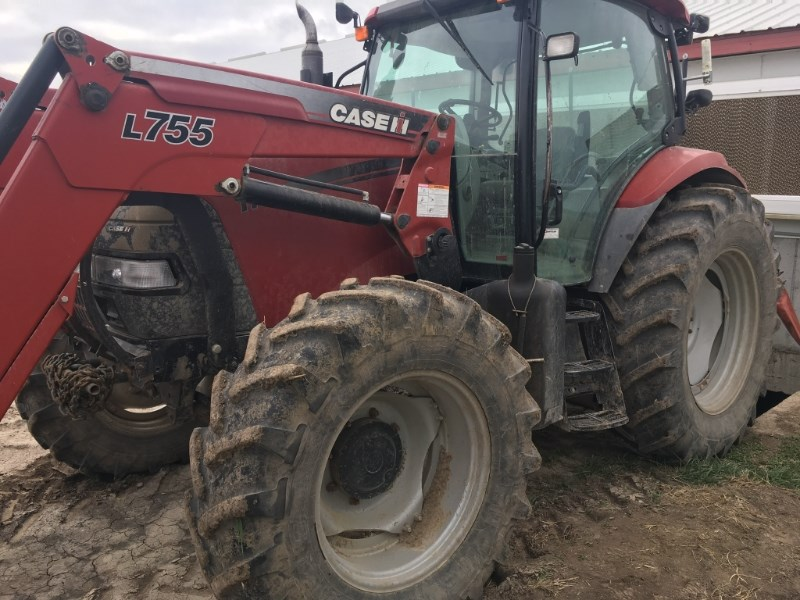 2009 Case IH MAXXUM 115 Tractor For Sale