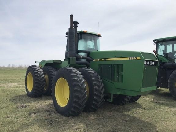 1989 John Deere 8760 Tractor For Sale