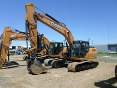 Excavator-Track For Sale 2017 Case CX210D , 174 HP