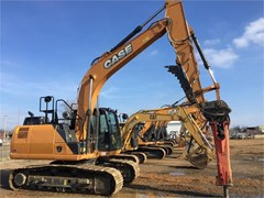 Excavator-Track For Sale 2017 Case CX160D