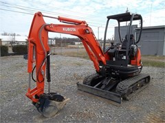 Excavator-Mini For Sale 2017 Kubota U25