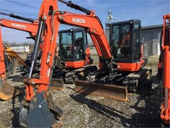 Excavator-Mini For Sale 2015 Kubota U55-4