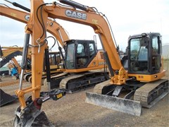 Excavator-Track For Sale 2017 Case CX80C