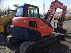 Excavator-Track For Sale 2015 Kubota KX080-4