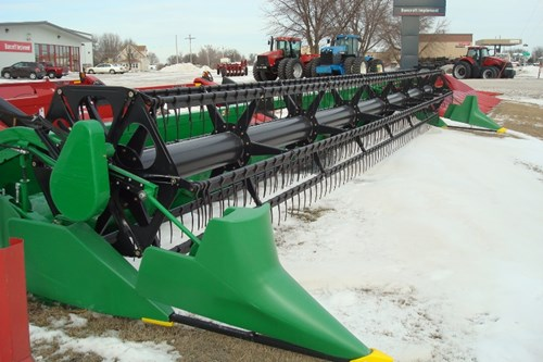 Header-Draper/Flex For Sale:  2012 John Deere 635F