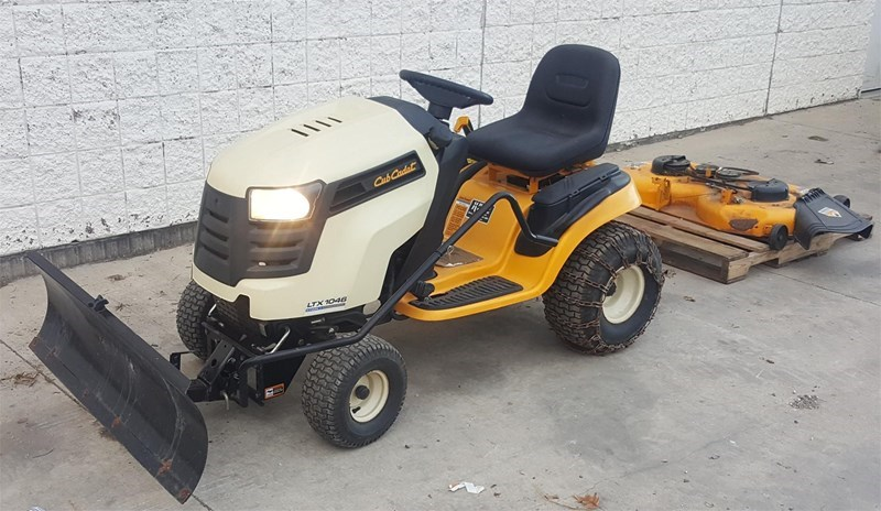 2013 Cub Cadet LTX1046KW Riding Mower For Sale