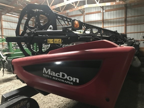 2016 Mac Don FD75-40 Header-Draper/Flex For Sale
