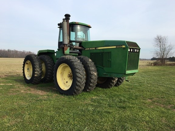 1989 John Deere 8560 Tractor For Sale