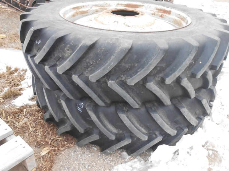 Michelin 18X46 DUA Wheels and Tires For Sale
