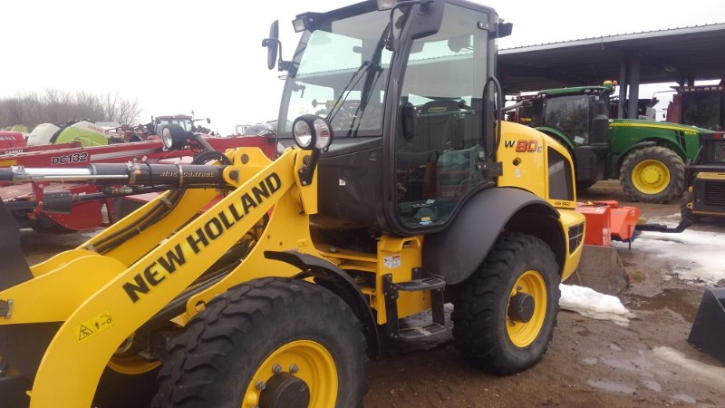 2015 New Holland W80C Skid Steer For Sale