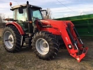 2014 Massey Ferguson 6615 Tractor For Sale