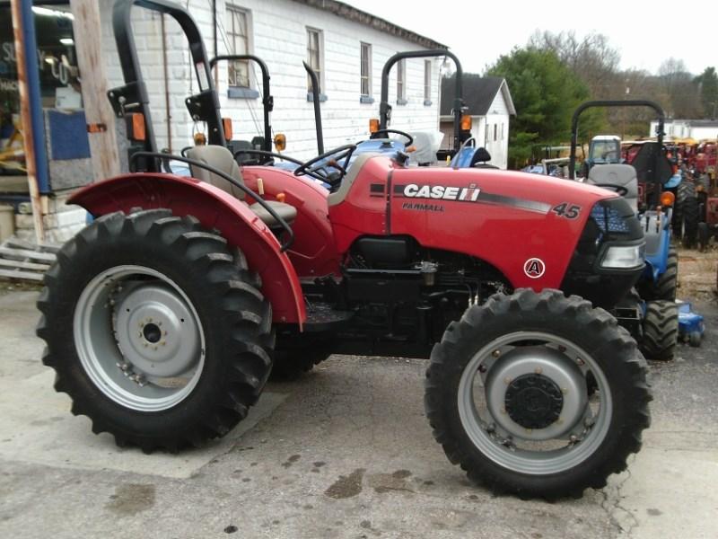 2010 Case IH FARMALL 45A MFD Tractor For Sale