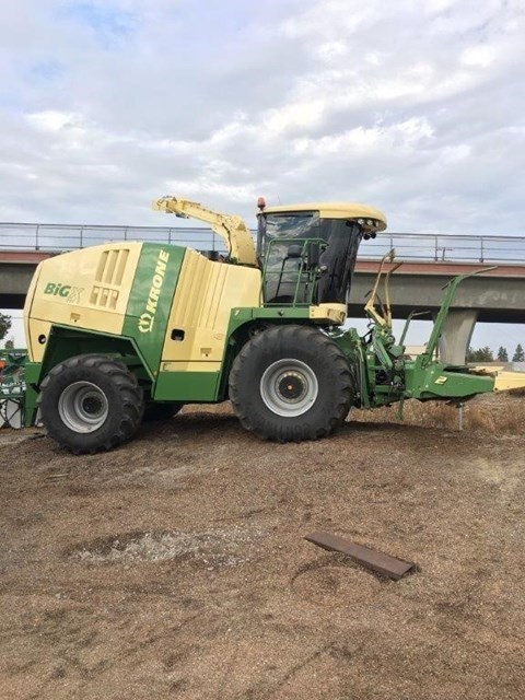 2015 Krone BIG X 750C Forage Harvester-Self Propelled For Sale