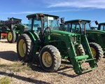 Tractor For Sale: 2011 John Deere 6115D Cab, 115 HP
