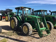 Tractor For Sale 2011 John Deere 6115D Cab , 115 HP