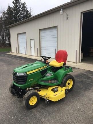 2015 John Deere X754 Riding Mower For Sale