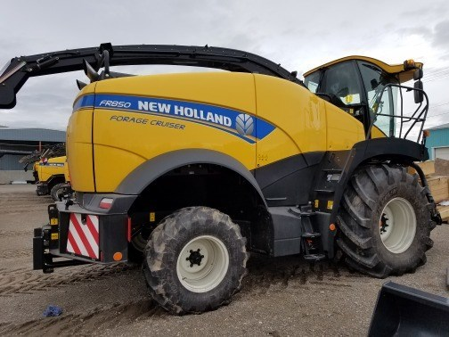 2017 New Holland FR850 T2 Forage Harvester-Self Propelled For Sale