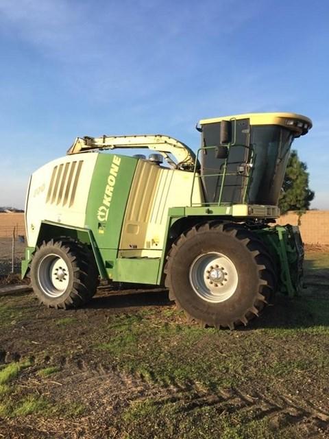 2010 Krone BIG X 800 Forage Harvester-Self Propelled For Sale