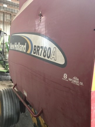 2007 New Holland BR780A Baler-Round For Sale