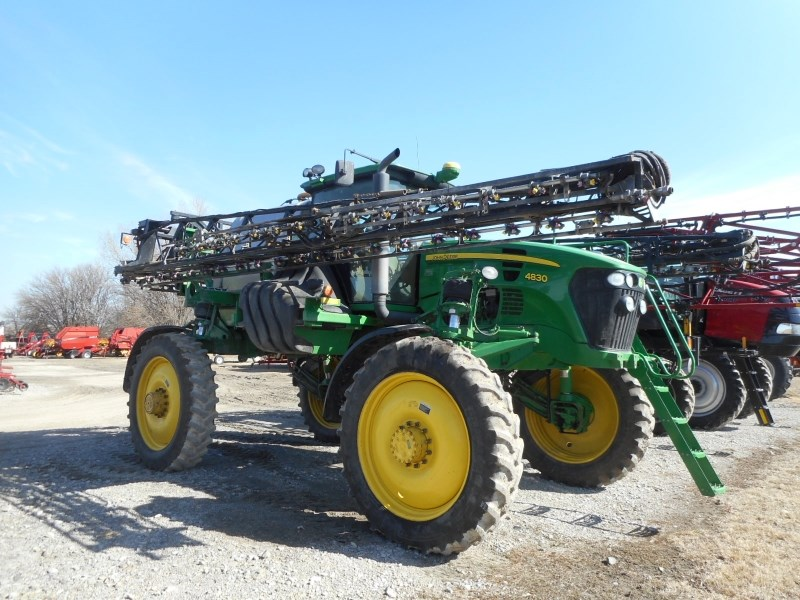 2010 John Deere 4830-100 Sprayer-Self Propelled For Sale