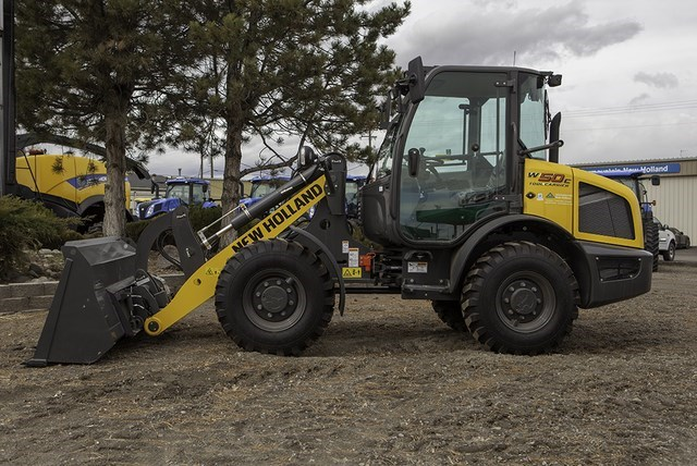 2017 New Holland W50C Wheel Loader For Sale