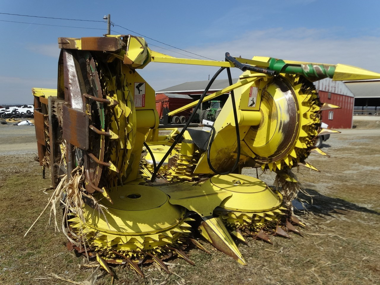 2007 John Deere 678 Forage Head-Rotary For Sale