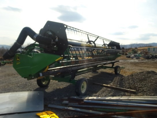 2009 John Deere 625F Header-Auger/Flex For Sale