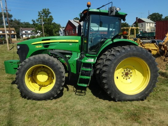 2008 John Deere 7830 Tractor For Sale
