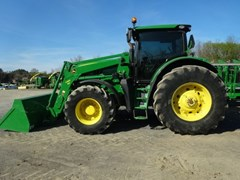 Tractor For Sale 2012 John Deere 6210R , 210 HP
