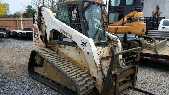 2008 Bobcat T320 Skid Steer-Track For Sale